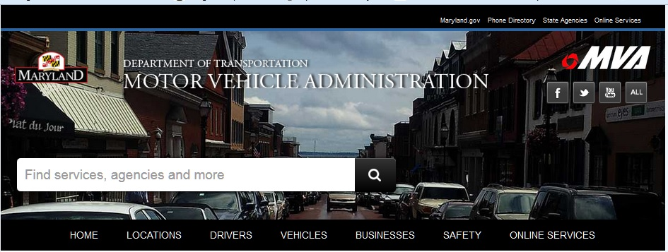 Drivers ed southern maryland for Motor vehicle administration md